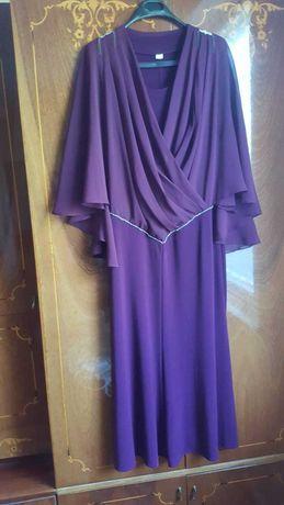 Платья фиолетовое и голубое
