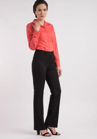 нов черен панталон