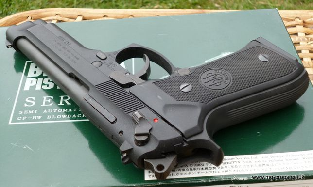 CEL MAI TARE-Pistol Airsoft METAL Beretta/Taurus 6mm Aer Comprimat Co2
