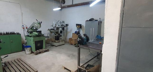 Confecții metalice, atelier strung, freza, prelucrari mecanice