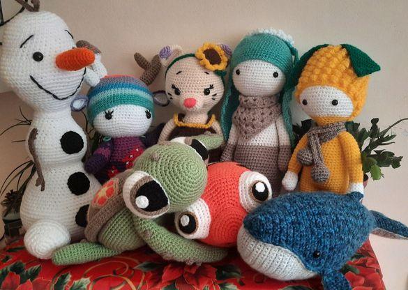Плетени забавни играчки