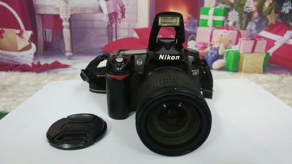 Nikon D80 + обектив AF-S Nikkor 18-135 mm.