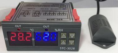 Controler de temperatura dubla pt. automatizari, 220V/10A - STC-3028