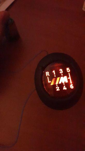 Бмв Топка за скоростен лост -5 и 6 скорости, светеща