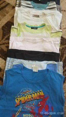 лот от летни блузки 3-5 год.момче