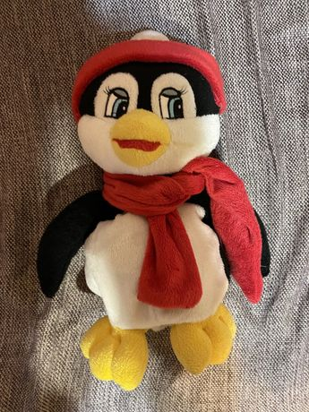 Детский рюкзак , игрушка пингвин