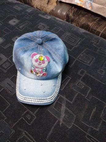 Șapcă fetițe blugi
