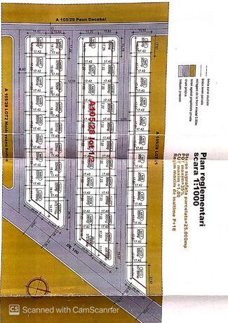Techirghiol Teren Intravilan Ideal Constructie Casa Strada Asfaltata
