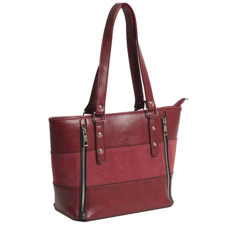 Дамски Чанти - цвят бордо и червен