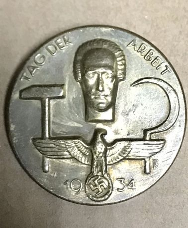 1636at Insigna nazista Tag der Arbeit 1934