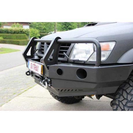 bullbar otel pentru Nissan Patrol Y61 1998-2002 Fabryka 4X4 Polonia