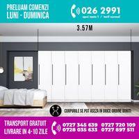2634 lei - Dressing 3.57m / Dulap Dormitor Timea
