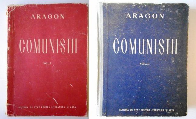 Lot Comunistii vol. I si vol. II - Aragon, Revista Munca de partid