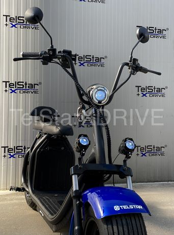 Scuter electric BIG CITY HARLEY X7 ULTRA 1500W 60V 26Ah cu faruri LED