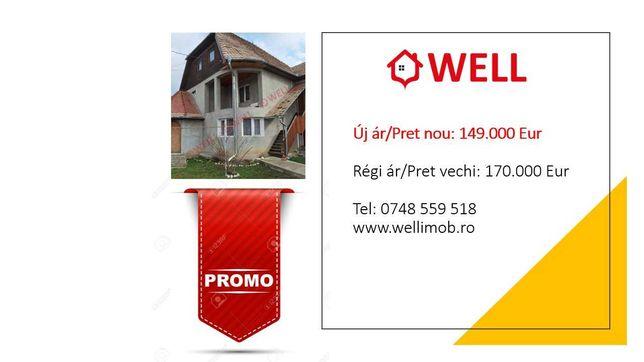 De vânzare casă familial cu etaj la Șumuleu Ciuc.