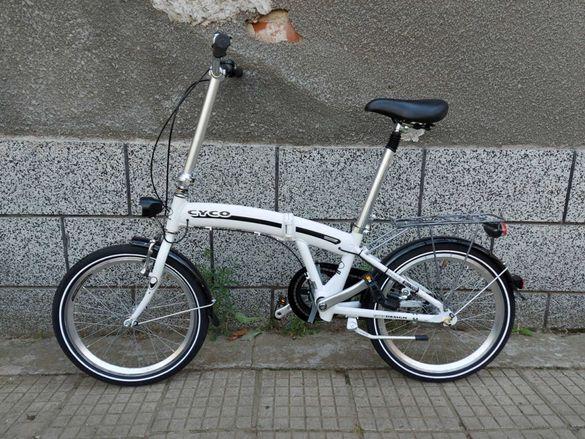 Сгъваем велосипед CYCO 20 цола като нов