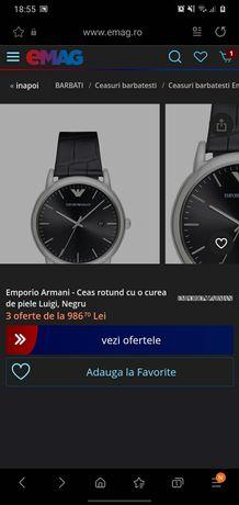 Vand ceas original Emporio Armani