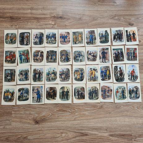 Пощенски картички с мотиви на Густав Мюлер, цяла колекция, 1965 г