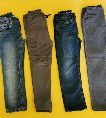 Лот дънки и джинси за момче ръст 116