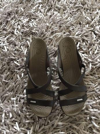 Papuci saboti sandale fetite copii Crocs 40-41 Cyprus IV noi,originale