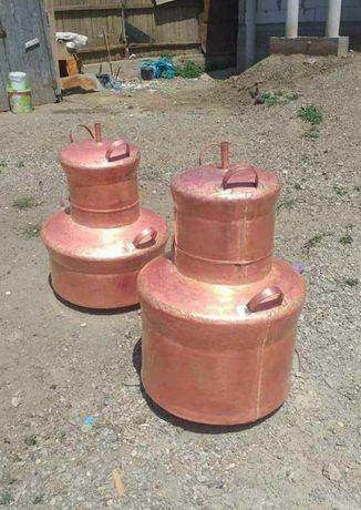 Vand cazan de țuică capacitate litri 60 litri 70 litri 80 litri 90 lit