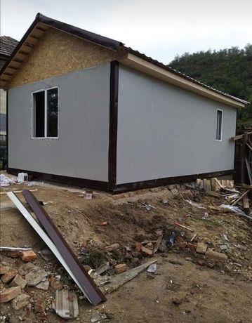 Containere stal casa din lemn sau structura metalica