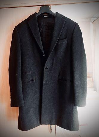 Теплое натуральное шерстянное пальто на осень!