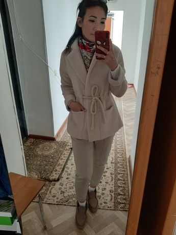 Кардиган пальто на весну