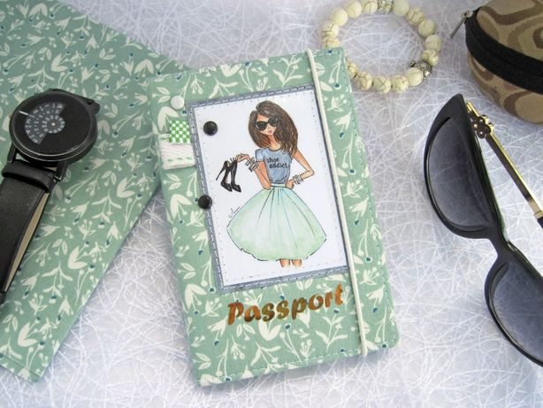Продам обложку на паспорт