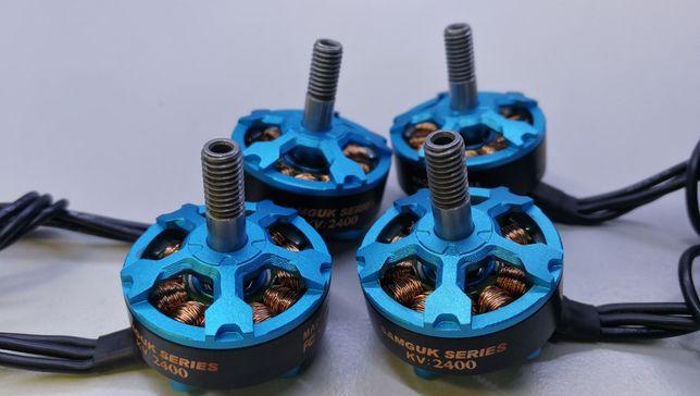 Set motoare brushless Flashhobby 2206 2400 kv 3-4S + protectii cadou