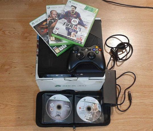 Xbox 360,250гб+диски с играми