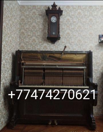 Настройка пианино,фортепиано, ремонт,осмотр,Алматы и пригороды.