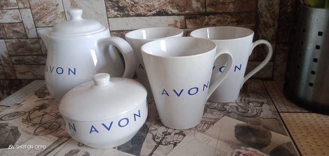 Продам наборы чайник сахарница 3 бокала