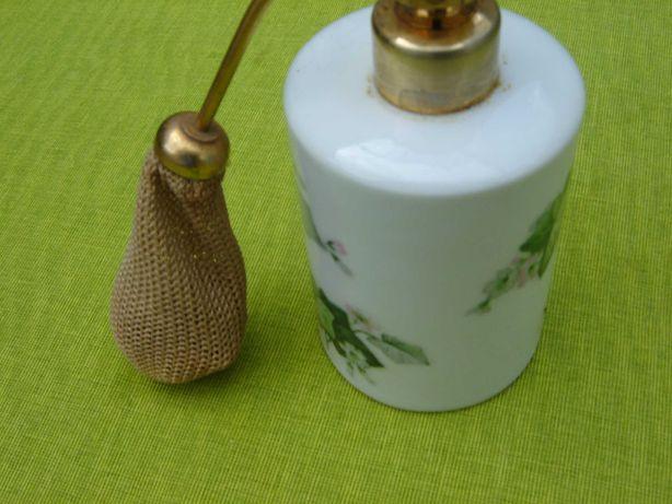Sticla veche de parfum, portelan Limoges France