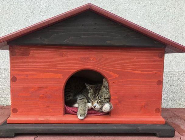 Casuta pentru pisici, caini, de talie mica si medie