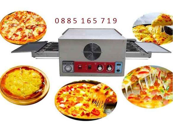 Пицарка лентова пещ за пици