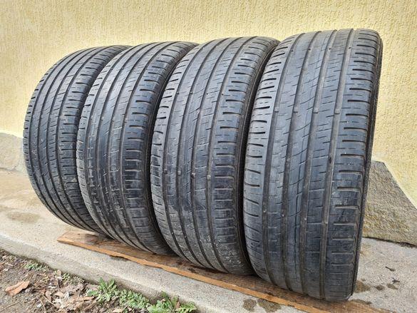 4 бр. летни гуми 225/55/18 Barum SUV DOT 4816 2x5 mm 2x4 mm