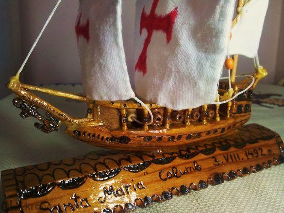 Кораби Изработени От Дърво,сувенири,дърворезба! Фигури от Дърво !