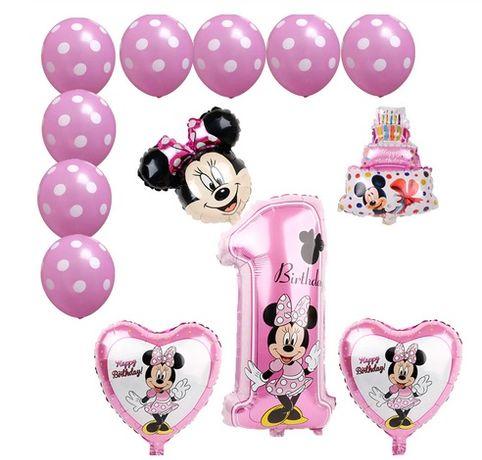Балони за първи рожден ден с Мики или Мини маус