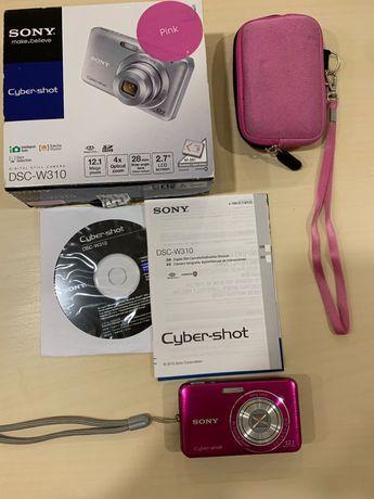 Фотоапарат Sony - cyber shot DSC W310 pink