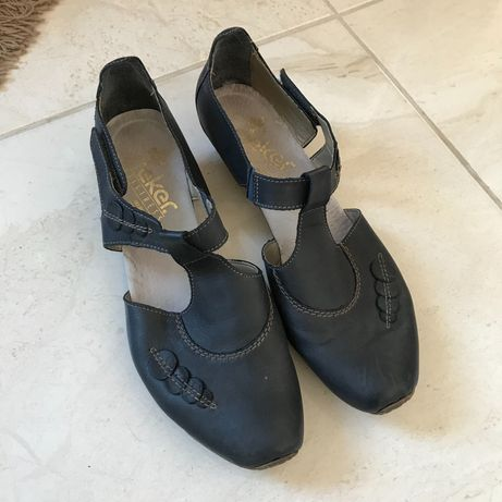 Дамски обувки Rieker 40 сандали като нови