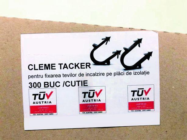 Cleme Tacker - TUV Austria pt tevi la diametrul 14, 16 și 20 mm