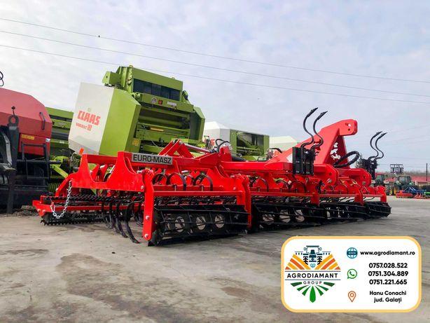 Cultivator Combinator Agricol Euro-Masz 5 m fabricat in Polonia