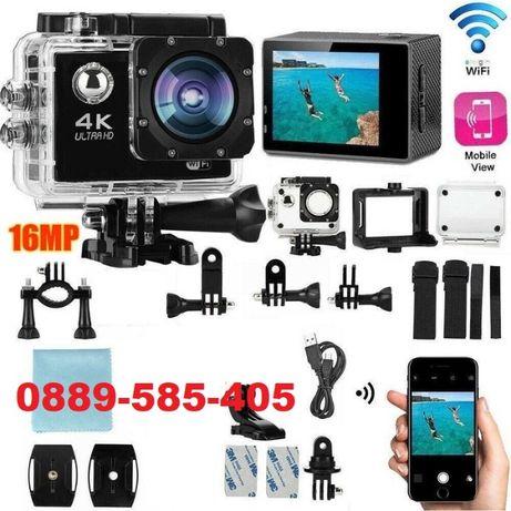ТОП 4K WiFi Action водоустойчива камера GoPlus - екшън тип GoPro