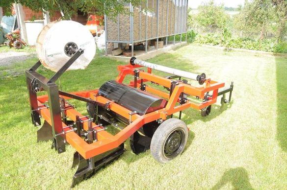 Машина за мулчиране машина за ягоди masina za mulcirane slagane folio