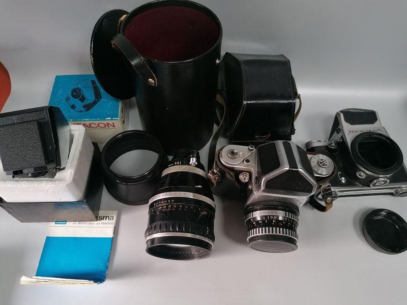 Pentacon six tl фотоапарат по договаряне гр. София - image 1