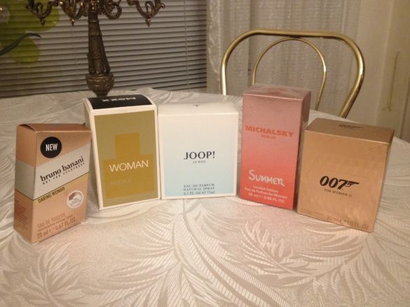 Оригинални дамски парфюми, веган дезодорант, нови, парфюм/от Германия