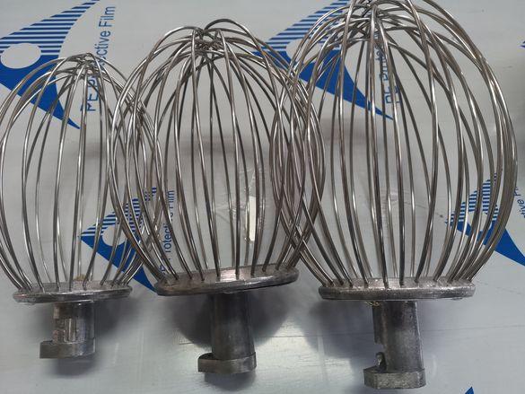 Бъркалки резервни за планетарен миксер 10 и 15 литра чисто нови