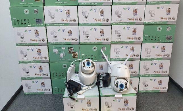 Camera IP Supraveghere 5Mp Rotativa Wifi FullHD Microfon Led IR60M