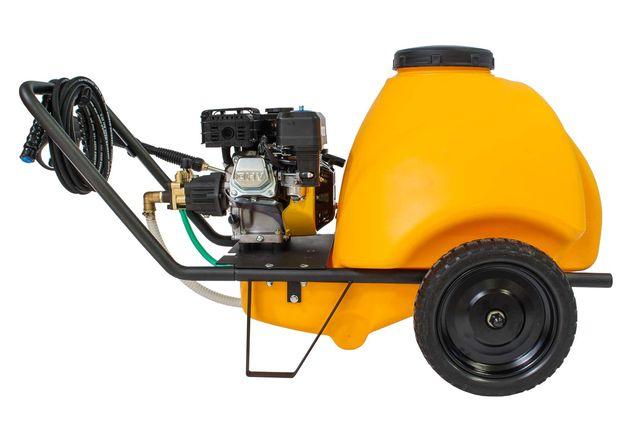 Aparat spalat presiune Gaspper, 220 bari, 120l, benzina vap karcher